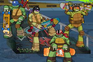 忍者神龟滑板刺杀