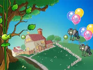 植物大战气球僵尸